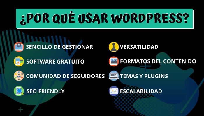 ¿Por qué no usar WordPress?